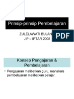 8487677 Bab 2 Prinsip Prinsip Pembelajaran