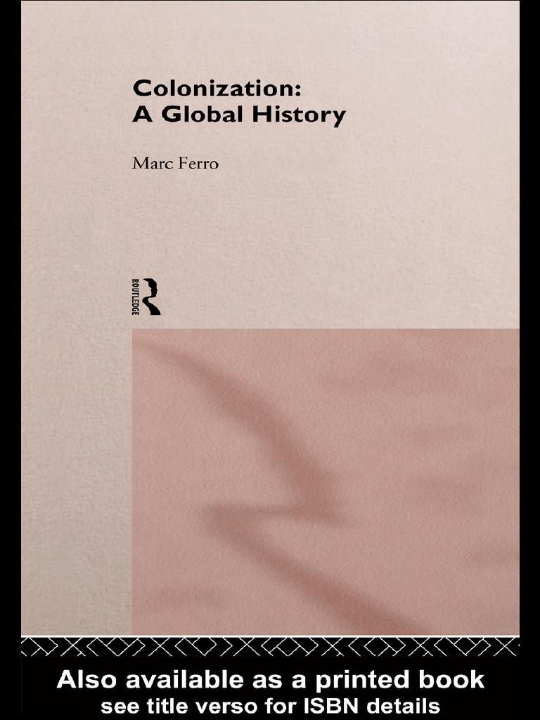 Global pdf Mark Ferro History Colonization A DH9eWEIY2