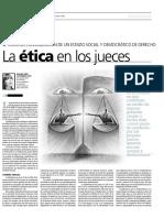 Etica Judicial en El Peru