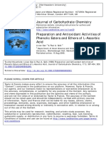 Journal of Carbohydrate Chemistry Volume 17 Issue 3 1998 [Doi 10.1080%2F07328309808002901] Gan, Lixian; Seib, Paul a. -- Preparation and Antioxidant Activities of Phenolic Esters and Ethers of L-Ascor