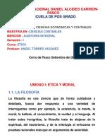 Diapositivas Curso Etica de Pos Grado 2017