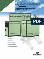 SullAir Compresor 7500 Ficha