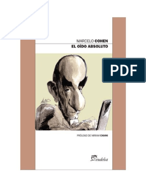 Cohen El Marcelo Oido doc Absoluto Okn0Pw