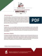 4. Programa Barista Nivel 1