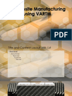 Composite Manufacturing Using Vartm