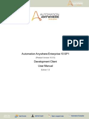 AAE_UserManual_Client pdf | Remote Desktop Services