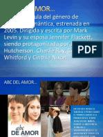 Analisis Pelicula ABC Del Amor