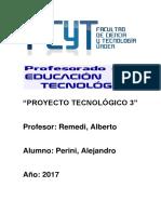 PROYECTO TECNOLÓGICO 3