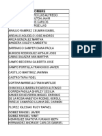 Listado Docente-perfil Profesional Para Estudiantes