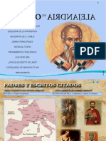 San Cirilo de Alejandría sintesis