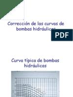 Corrección de Curvas de Bombas