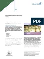 Ammonia Refrigeration in Cold Storage Facilities