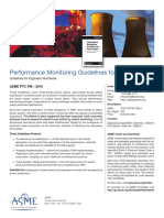 Performance Monitoring Guidelines for Power Plants