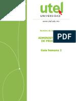 Administración de Procesos GUIA SEMANA 2