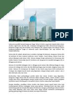 Wisma Bni 46 Dan Sistem Struktur Bangunan Tinggi