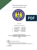 Laporan Praktikum Biologi Dasar Regulasi Dan Homeostatis