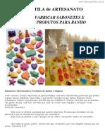 Fabricação de Sabonetes