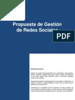 Nueva Propuesta de Gestión de Redes Sociales