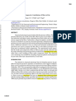Tensile and Compressive Contributions of Fibres in Peat