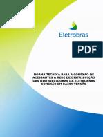 Eletrobras Norma de Acesso de Microgeração Em BT v27mar2013 Norma Técnica