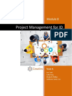 creativo project management document