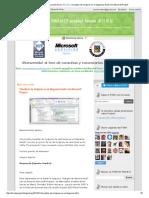 Visualizar Las Holguras en El Diagrama Gantt Con Microsoft Project