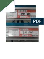 Labels y Caracteristicas Alkosto Zona 5 Juana