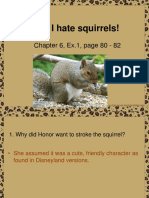 Why I Hate Squirrels!