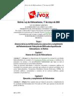Ley de Hidrocarburos 2005