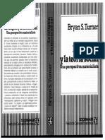 Turner, B. (2005). La Religión y La Teoría Social.