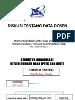 Diskusi Tentang Data Dosen