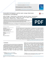 Livehood and water-energy-food system