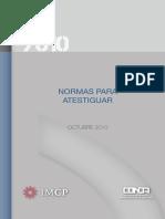 Normas para Atestiguar.pdf