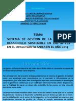 Diapositiva Modelo de Exposicion de Informe Estadistico