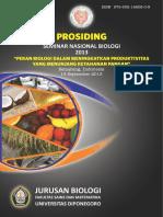 Prosiding SIMNAS Biologi 2013
