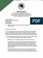 McCamley letter to AG Sept 27