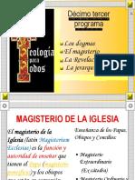 Magisterio de La Iglesia