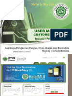 1.1 USER MANUAL Customer Industri Pengolahan 2017 Rev.01
