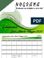 Cronograma Definitivo Estudiantado 2017 Imprimir
