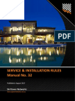 Service Installation Rules
