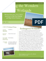 Sharing the Wonder of Wetlands