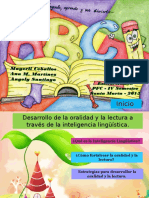 desarrollodelaoralidadylalecturaatravsdelainteligencialinguistica-130925082315-phpapp02