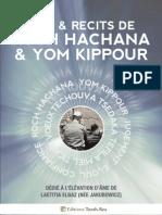 """""""Lois & Récits de Roch Hachana & Yom Kippour"""""""