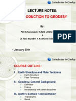 Intro to Geodesy