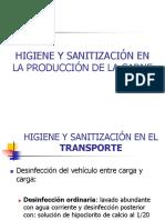 11 Higiene y Sanitización en La Producción de Carne
