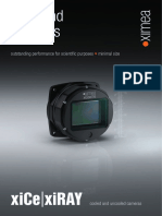 XiCE Scientific High End Cameras 2015 Brochure