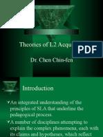 Theories of SLA