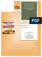 Plan de Marketing Reventon Chimbote