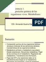 1. Composición química organismos vivos. Metabolismo. (1).ppt
