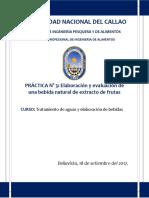 Informe 3 Aguas - Macerado